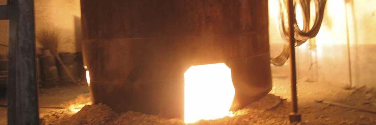 Brown Fused Alumina Furnace